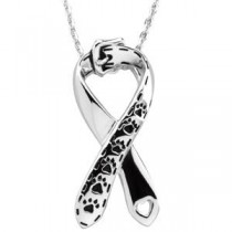 Citizens Against Animal Cruelty Pendant Chain in Sterling Silver