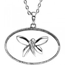 It Begins Me Pendant Chain in Sterling Silver