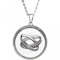 Marriage Pendant Chain in Sterling Silver