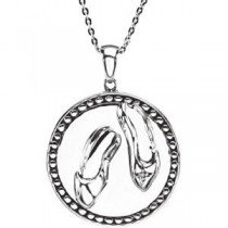 Dance Pendant Chain in Sterling Silver