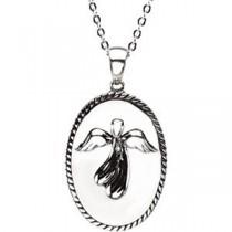 Friends Pendant Chain in Sterling Silver