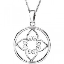 I Appreciate You Pendant Chain in Sterling Silver