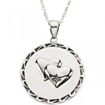 Too Blessed Pendant Chain in Sterling Silver