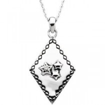 Believe To Receive Pendant Chain in Sterling Silver