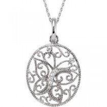 Journey Of Contentment Necklace in Sterling Silver