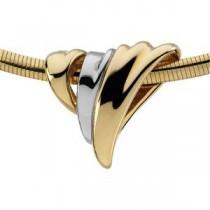 Chain Slide in 14k White Gold