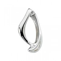 Chain Slide in 14k White Gold