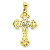 Cross Pendant in 10k Yellow Gold