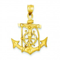 Mariners Cross in 14k Yellow Gold