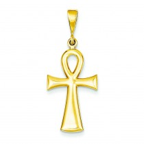 Egyptian Ankh Cross in 14k Yellow Gold