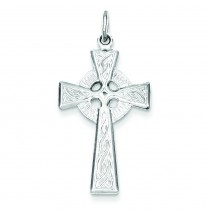 Celtic Cross Pendant in Sterling Silver