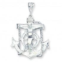 Mariner Cross in Sterling Silver