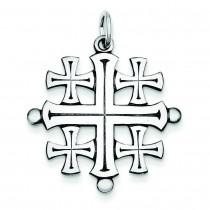 Jerusalem Cross in Sterling Silver