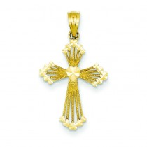 Passion Cross in 14k Yellow Gold