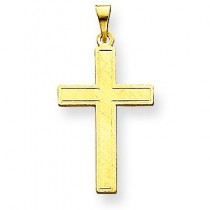 Latin Cross Pendant in 14k Yellow Gold