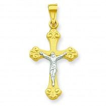Crucifix Pendant in 10k Yellow Gold