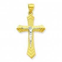 Passion Crucifix Pendant in 10k Yellow Gold