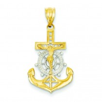 Mariner Cross in 14k Yellow Gold