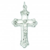 Crucifix Pendant in Sterling Silver