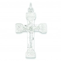 Latin Crucifix in Sterling Silver