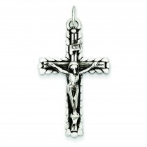 INRI Crucifix in Sterling Silver