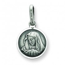 Our Lady of Sorrows Medal in Sterling Silver