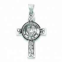 US Army Cross in Sterling Silver