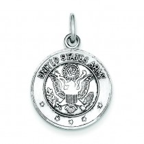 US Army Medal in Sterling Silver