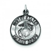 US Marine Corp Medal in Sterling Silver