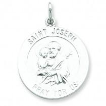 St Joseph Medal in Sterling Silver