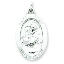 Saint Anthony Medal in Sterling Silver