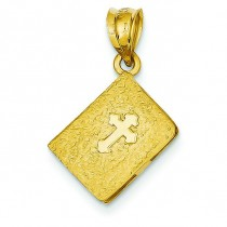 Bible Charm in 14k Yellow Gold