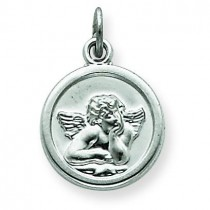 Angel Medal in Sterling Silver