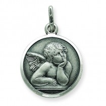Raphael Angel Charm in Sterling Silver