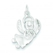 Angel Charm in Sterling Silver