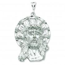 Ecce Homo Pendant in Sterling Silver