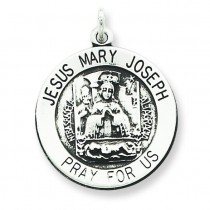 Holy Trinity Medal in Sterling Silver