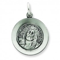 Ecce Homo Medal in Sterling Silver