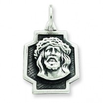 Ecce Homo Charm in Sterling Silver