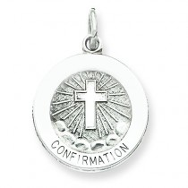 Confirmation Medal in Sterling Silver