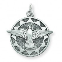 Holy Spirit Medal in Sterling Silver