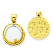 If You Have Faith Pendant in 14k Yellow Gold