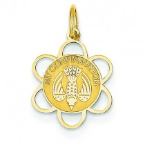 My Confirmation Charm in 14k Yellow Gold