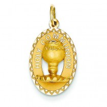 Holy Communion Charm in 14k Yellow Gold