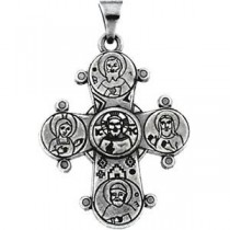 Dagmar Cross in 14k White Gold