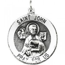 St John Medal in Sterling Silver