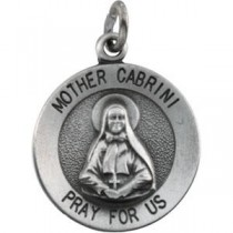 Mother Cabrini 18 Inch Chain in Sterling Silver