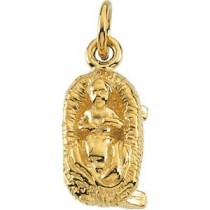 Baby Jesus in Sterling Silver