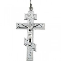 St Andrew Cross in Sterling Silver