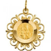 Anne De Beaupre in 14k Yellow Gold